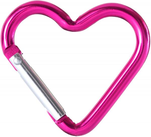 Schlüsselringe Herz 1 Stück / Schlüsselanhänger Pink in Herzform