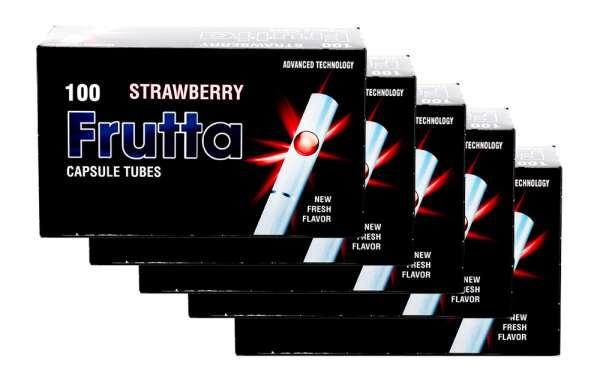 Frutta Click Hülsen - Filterhülsen mit Geschmack: Strawberry (Erdbeere), 500 Hülsen