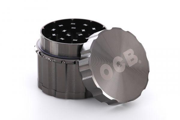 OCB Grinder Metall - Anthrazit - sortiert 4-tlg Magnet Ø 50 mm