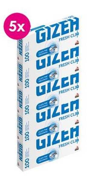 Gizeh Fresh Cliq, 5x 100 Hülsen