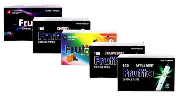 Frutta Click Hülsen Mix - Filterhülsen mit Geschmack: 5 Sorten im Mix