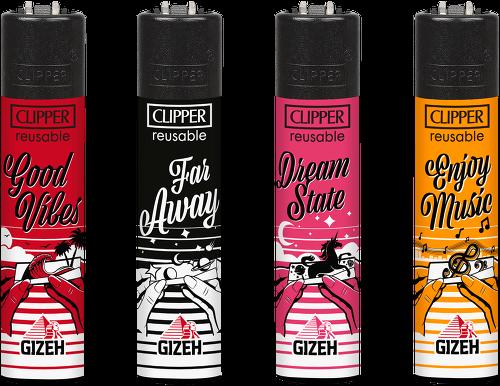 Clipper Feuerzeuge 4er Set: Gizeh 6