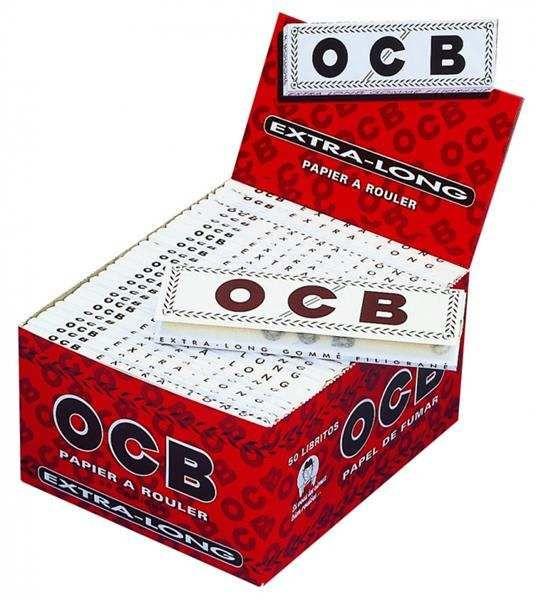 OCB Weiß Extra Long 50 Hefte je 32 Blatt