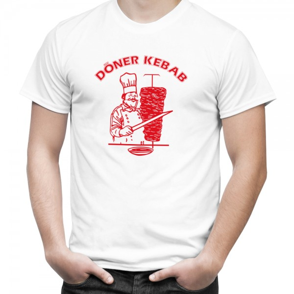 Döner Kebab Shirt für Herren