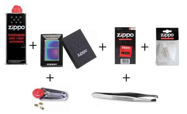 Zippo Erstausstattungs-Set Spectrum ( ICY)