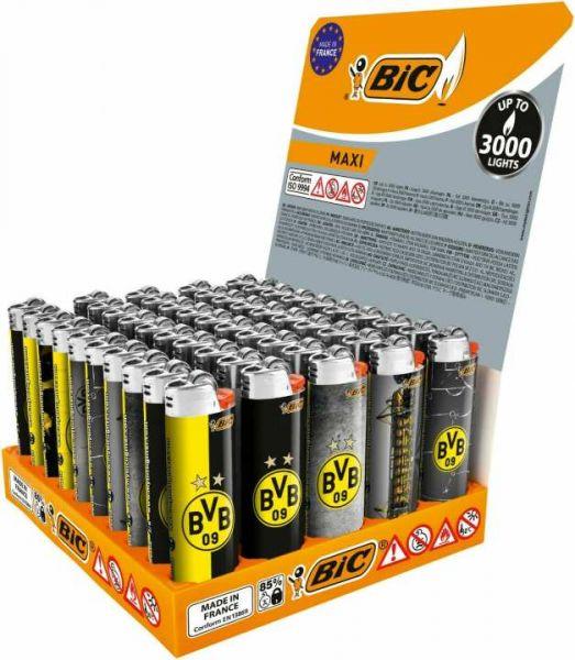 BIC Maxi BVB Feuerzeuge 5 Stück Original DORTMUND-BVB Edition