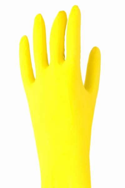 GERLINOVA Haushalts-Handschuhe 3er Pack - Gummihandschuhe zur sauberen Reinigung - Wiederverwendbare