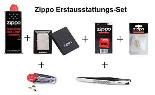 Zippo Erstausstattungs-Set Chrome