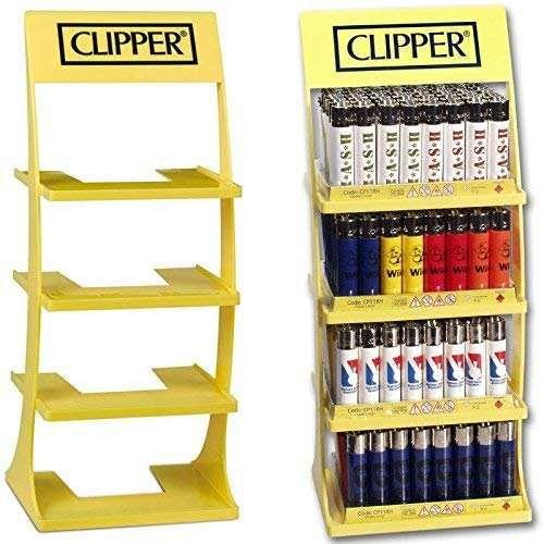 Clipper Aufsteller für Feuerzeuge aus Kunststoff, für 192Feuerzeuge