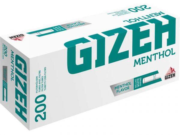 Sunmondo Gizeh Menthol Filterhülsen (5X 200er Box)