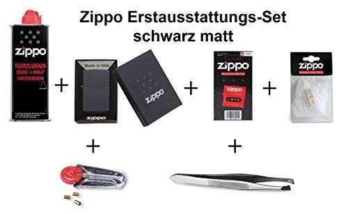 Zippo Erstausstattungs-Set Black Matt