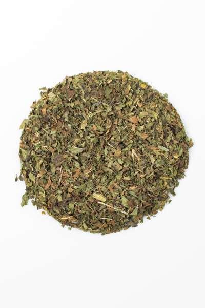 Minztee-Pfefferminz Tee geschnitten - lose