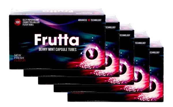 Frutta Click Hülsen - Filterhülsen mit Geschmack: Berry Mint (Beeren Minze), 500 Hülsen