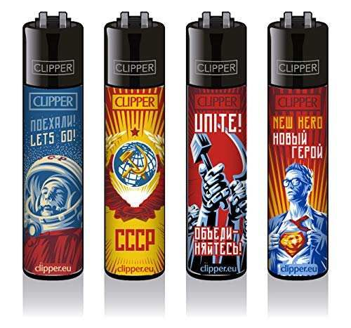 Clipper Feuerzeuge 4er Set: Soviet #2