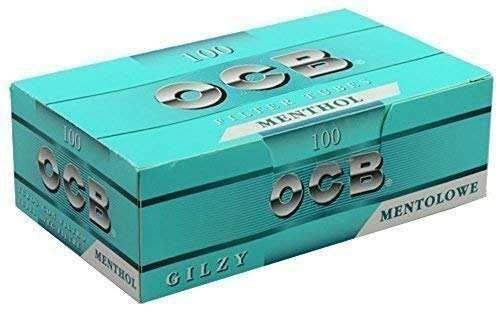 500 (5x100) OCB® Menthol (Hülsen, Filterhülsen, Zigarettenhülsen)