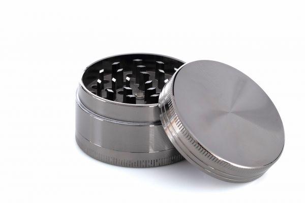 3-teiliger Premium Metall Grinder Anthrazit