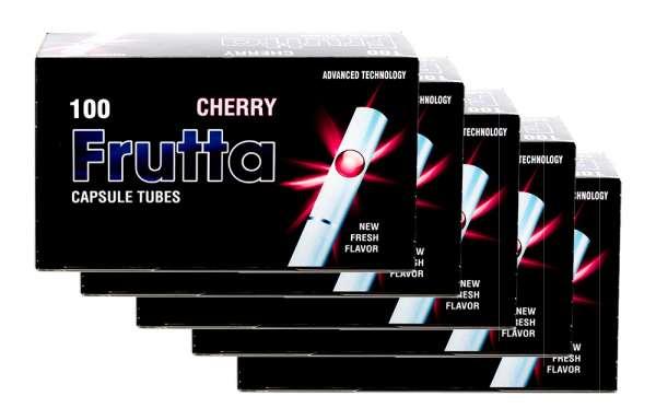 Frutta Click Hülsen - Filterhülsen mit Geschmack: Cherry (Kirsche), 500 Hülsen