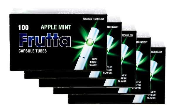 Frutta Click Hülsen - Filterhülsen mit Geschmack: Apple Mint (Apfel Minze), 500 Hülsen