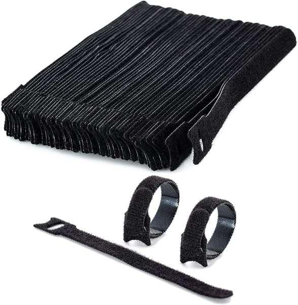 Klett Kabelbinder wiederverwendbar 15cm - 50Stück