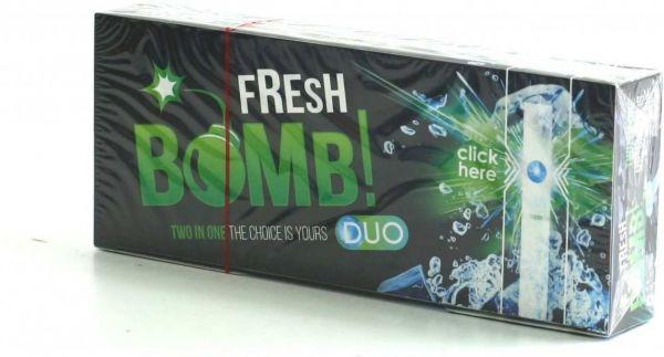 500 Fresh Bomb Menthol Click Hülsen mit Aromakapsel